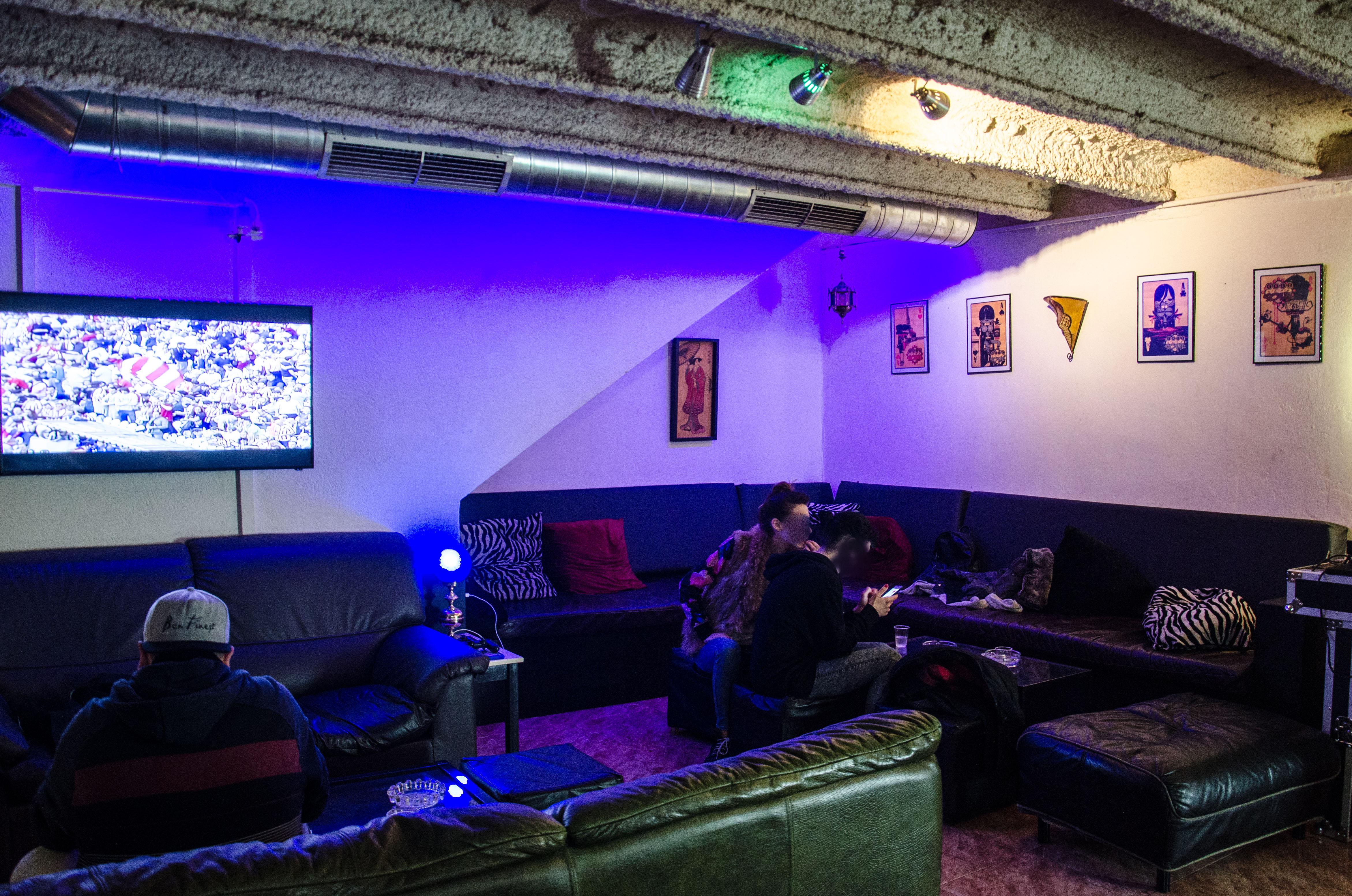 Ce cannabis social club est situé dans la vieille ville de Barcelone.